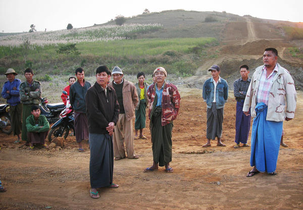 Residents of Nong Pha village in southern Shan State say the Burmese army confiscated their farmland to build the pipeline, and kept money intended to compensate them