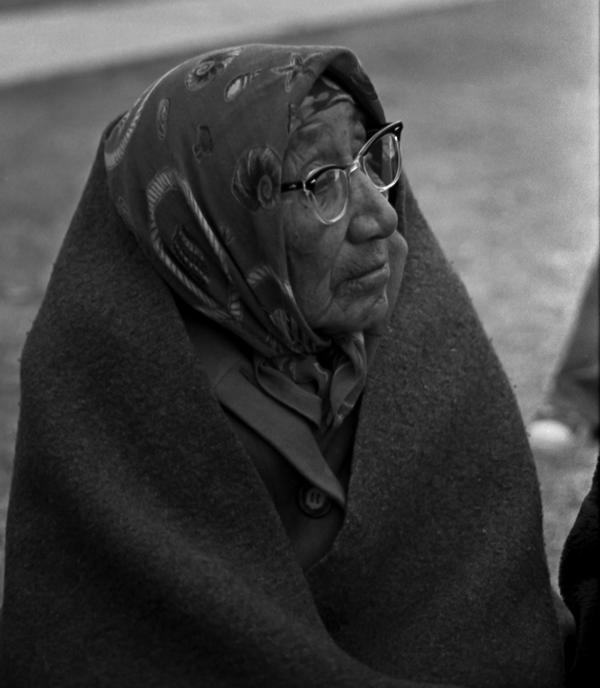Potrait of a Lakota elder