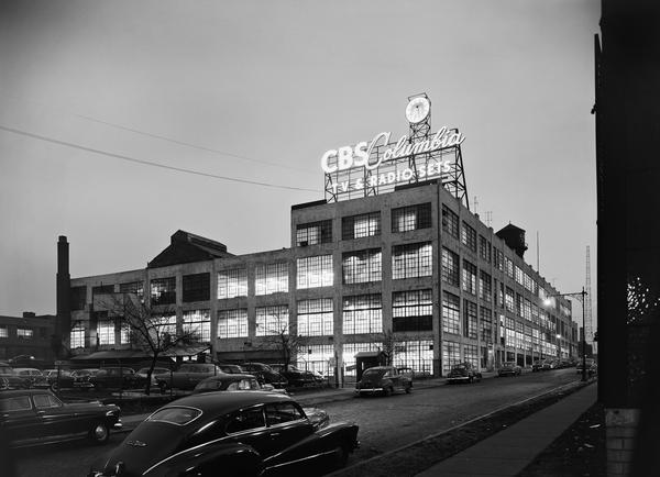 <em>CBS Columbia, Long Island City, N.Y.,</em> 1954