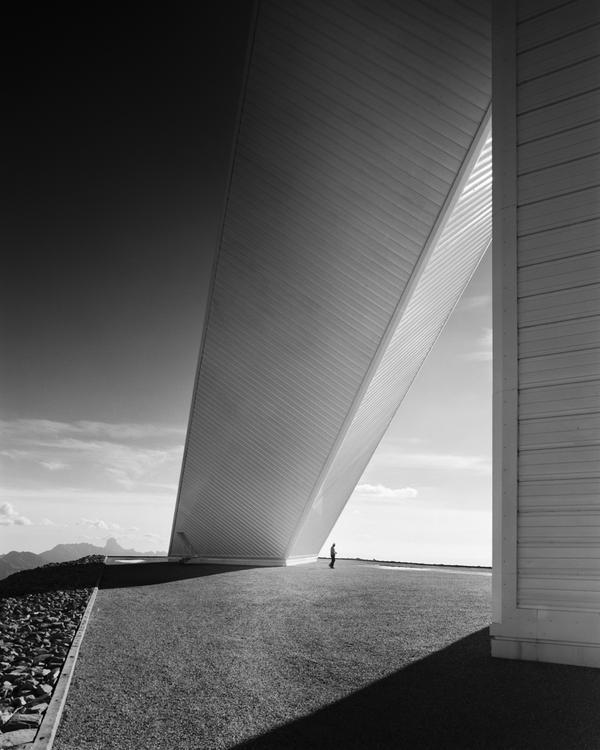 <em>McMath Solar Telescope, Skidmore, Owings & Merrill, Kitt Peak, Ariz.,</em> 1962