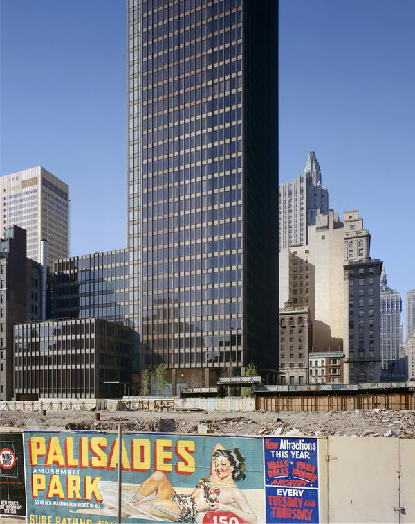 <em>Seagram Building, Mies van der Rohe with Philip Johnson, New York, N.Y.,</em> 1958