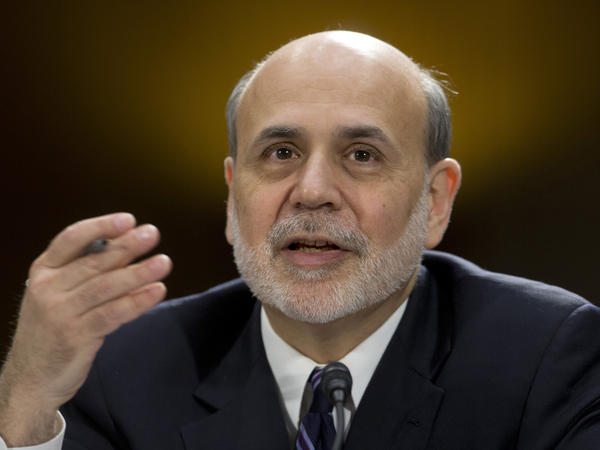 Federal Reserve Chairman Ben Bernanke testifies before the Senate Banking Committee in Washington last month. Some analysts wonder if he and other policymakers have kept interest rates too low for too long.