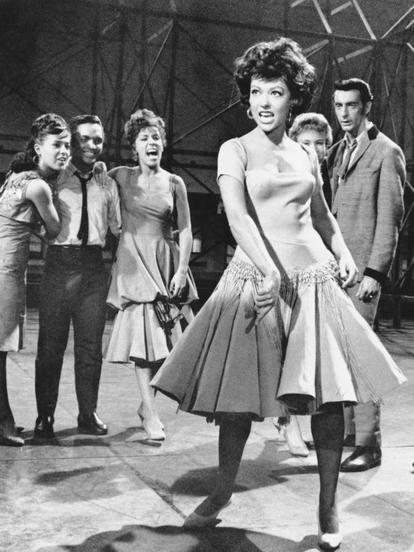 Rita Moreno won an Academy Award in 1962 for her role as Anita in <em>West Side Story.</em>