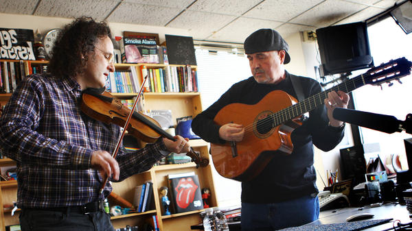 Martin Hayes and Dennis Cahill perform a Tiny Desk Concert on Feb. 25, 2013.