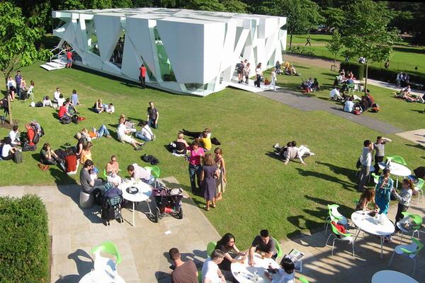 Serpentine Gallery Pavilion, 2002, London, U.K.