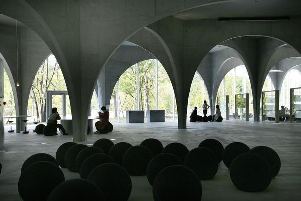 Tama Art University Library, 2004-2007, Hachioji-shi, Tokyo, Japan