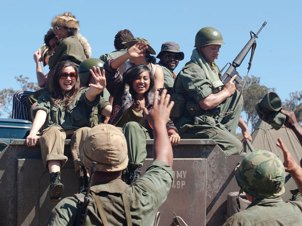 In the film, as in real life, The Sapphires travel from Australia to Vietnam to entertain American troops.
