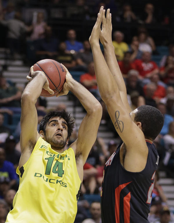 Rebounding machine Arsalan Kazemi is the first Iranian-born player in Divison I men's college hoops.