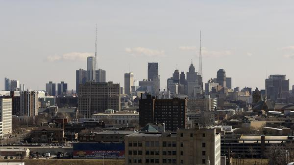 The population of Detroit has dwindled, and now there aren't enough taxpayers to pick up the tab for essential city services.