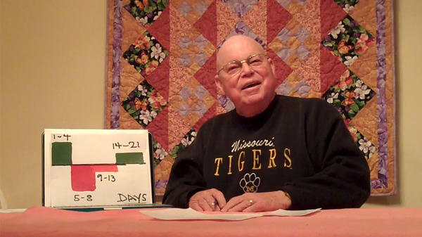 David Oliver, a retired professor at the University of Missouri, started a videoblog in 2011 after being diagnosed with stage 4 cancer. He's one of many people with serious illness who've taken up blogging to share their experience.
