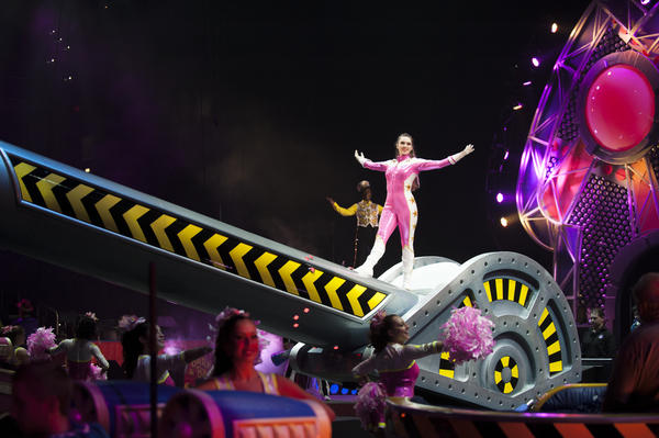 Elliana Grace Hentoff-Killian is on tour with the Ringling Bros. and Barnum & Bailey<em> </em>show <em>Built to Amaze!</em>