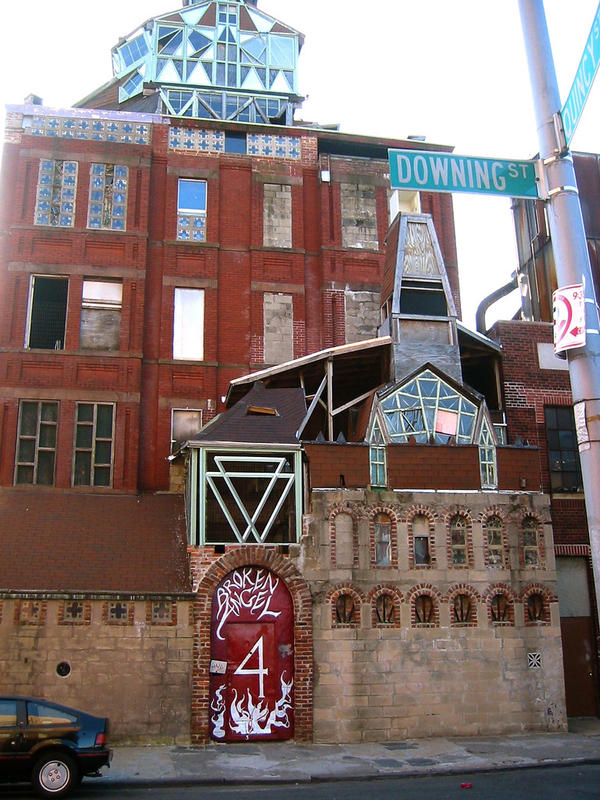 The building, which was featured in the film <em>Dave Chappelle's Block Party,</em> once towered nine stories over the street. Arthur took out most of the floors, creating a soaring open space with stained glass windows.<em> </em>
