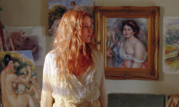 The beautiful, boastful model Andree (Christa Theret) serves as a muse for both Renoir men.