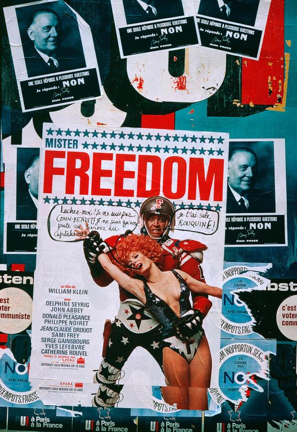 Poster for the film <em>Mister Freedom, </em>1967