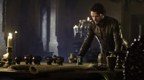 Richard Madden plays Robb Stark in HBO's <em>Game of Thrones.</em>