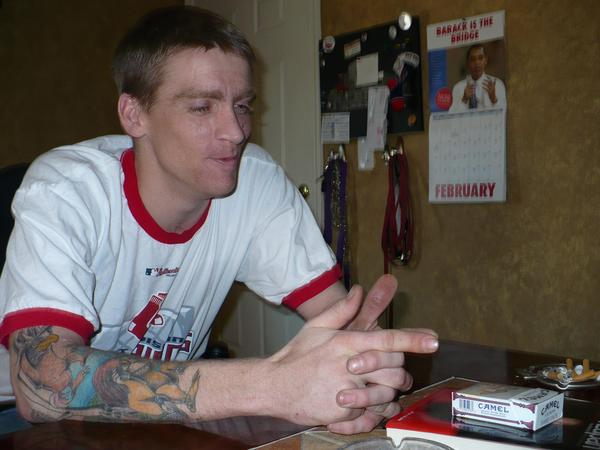 Tomas Young in 2008, before his health took another dive.