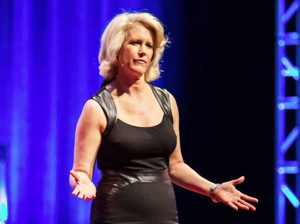 Leslie Morgan Steiner shares her story of domestic abuse at TEDxRainier.