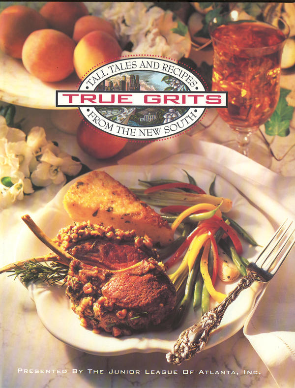 The Junior League of Atlanta's <em>True Grits</em> is a collection of contemporary recipes from well-known Atlanta chefs, restaurants and caterers.