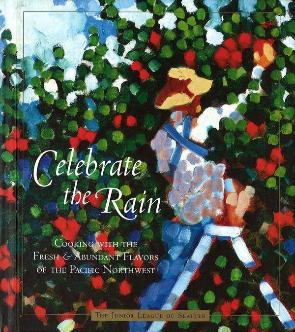 <em>Celebrate the Rain</em> was published in April 2004 by the Junior League of Seattle. It embraces the culinary riches of the Northwest, like asparagus, lentils, sweet onions and cherries.