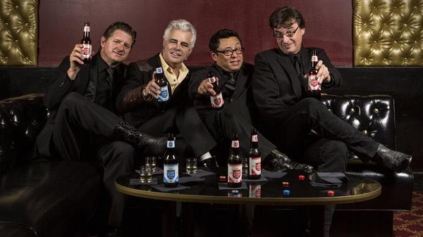 Dale Watson (second from left) and His Lonestars. Their new album is titled <em>El Rancho Azul</em>.