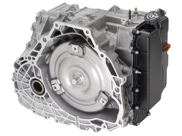 Schematic of the current generation of six-speed transmissions co-developed by GM and Ford.