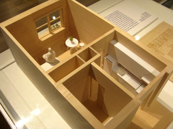 Another space-saving housing model showcased at Making Room, the art exhibit at the Museum of the City of New York.