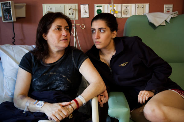 Celeste Corcoran and her daughter, Sydney, were injured in the Boston Marathon bombings.