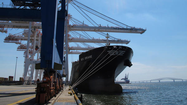The Port of Baltimore recently completed a major expansion, which included building a 50-foot berth and dredging the channel. It's in anticipation of increased traffic following the completion of a project to widen the Panama Canal.