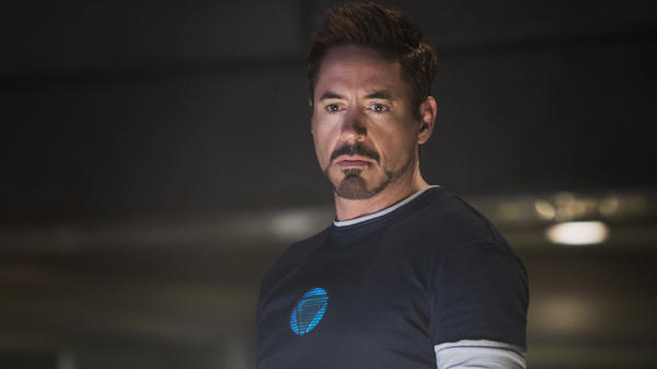 Robert Downey Jr. as Tony Stark in <em>Iron Man 3</em>.