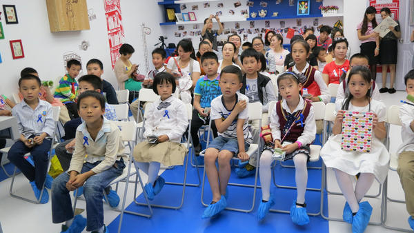 The children of wealthy Chinese attend classes designed to teach them how to do things like raise money for charity. The parents pay up to $10,000 a year to send their kids to weekend classes.