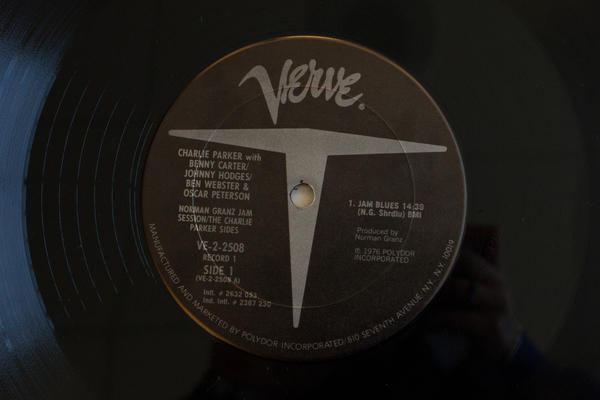 <strong>Verve Records</strong><br />(<em>Norman Granz Jam Session/The Charlie Parker Sides</em> by Charlie Parker with Benny Cater, Johnny Hodges, Ben Webster & Oscar Peterson, 1976)