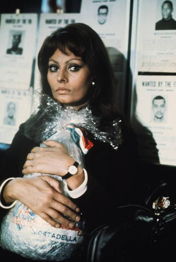 "Even Sophia Loren felt compelled to smuggle mortadella, despite a U.S. ban — well, her character did, anyway, in the <a href=""http://en.wikipedia.org/wiki/Lady_Liberty_(film)"">1971 film</a> <em>Lady Liberty</em>."