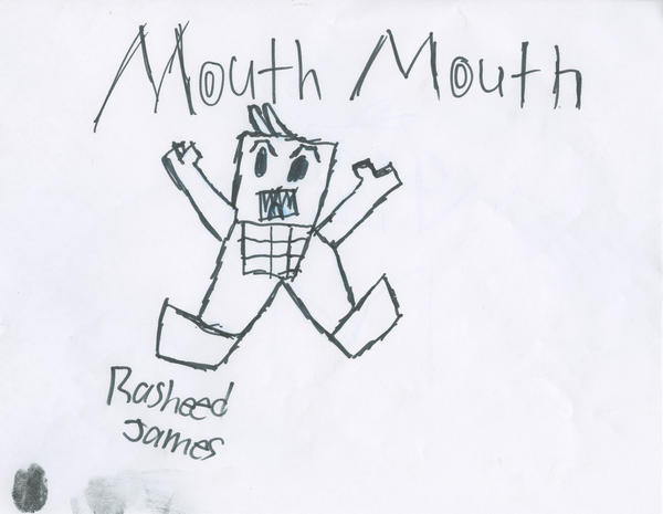 Rasheed James, fifth grade