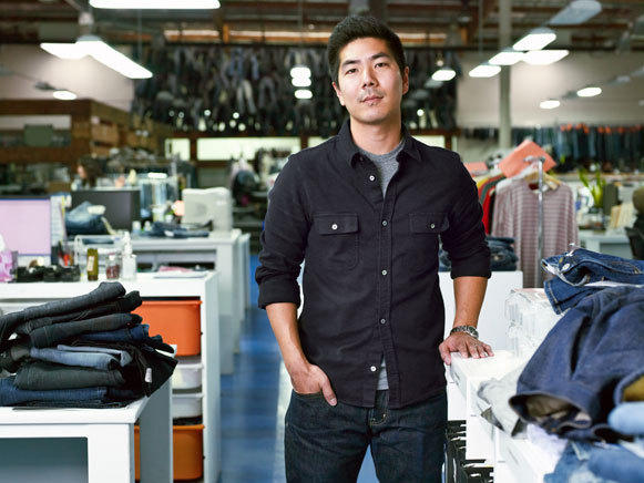 Samuel Ku, who runs AG Jeans alongside his father, says a European tariff puts thousands of U.S. clothing jobs at risk.
