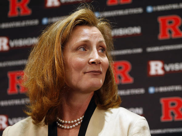 Julie Hermann, the incoming athletic director at Rutgers University.