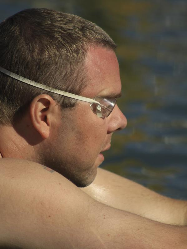 """<a href=""""http://www.npr.org/2013/06/06/189240932/the-iceman-swimmeth-chanting-f-cancer"""">Read the story of Goody Tyler</a>, a schoolteacher who earned the """"ice man"""" label for swimming a mile in 41-degree water in the Great Salt Lake. He credits that swim and workouts in the lake for helping him withstand the tedium of chemotherapy while being treated for cancer."""