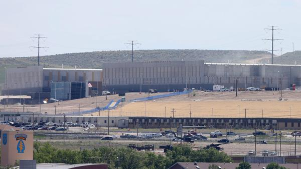 A National Security Agency data center is under construction in Bluffdale, Utah. When this data center opens in the fall, it will be the largest spy data center for the NSA.