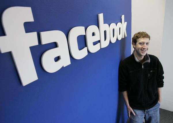 Facebook.com's mastermind, Mark Zuckerberg, at his office in Palo Alto, Calif., in 2007.