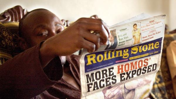 The Ugandan tabloid <em>Rolling Stone</em> — no relation to the American publication — has been a leading player in anti-gay crusades in the east African nation. The documentary <em>Call Me Kuchu </em>profiles a community of activists at the center of the political and cultural storm.