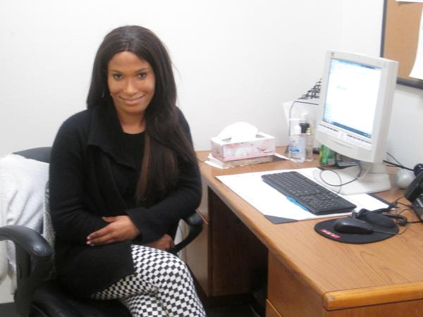 Once homeless herself, Kimberly McKenzie now works for Lamp Community, a nonprofit that helps the homeless.