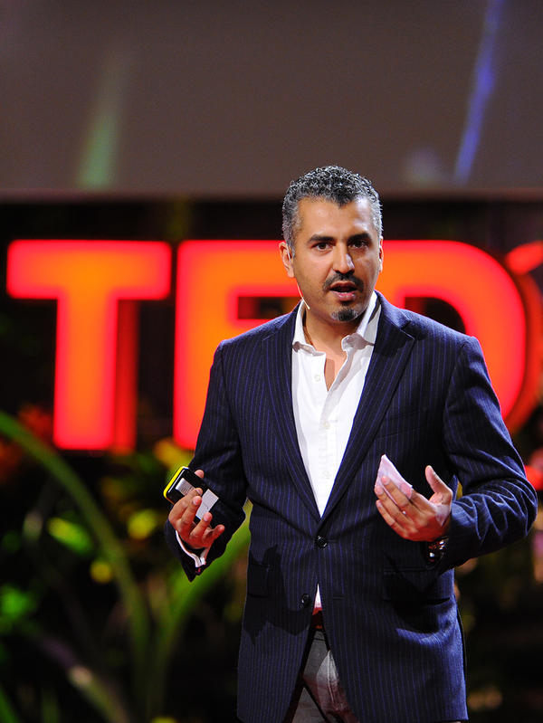 """I am everything I am today, because of my past."" - Maajid Nawaz"