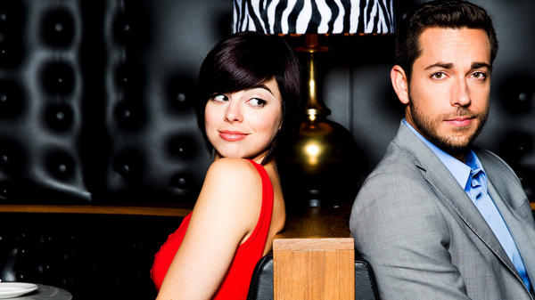Krysta Rodriguez played Ana Vargas in the recently canceled backstage-on-Broadway TV series <em>Smash,</em> and Zachary Levi earned a fervent following in the title role of NBC's <em>Chuck. </em>Both performers have backgrounds in the theater, and they'll be together on Broadway this summer in the premiere of the musical comedy <em>First Date.</em>