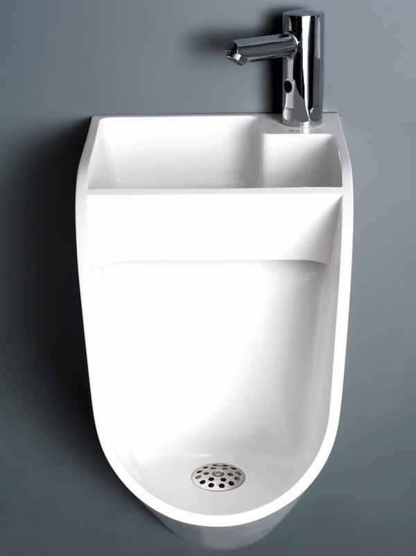 The Stand sink-urinal sells for about $590.