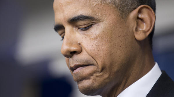 """""""Trayvon Martin could have been me 35 years ago,"""" President Obama told the press Friday."""