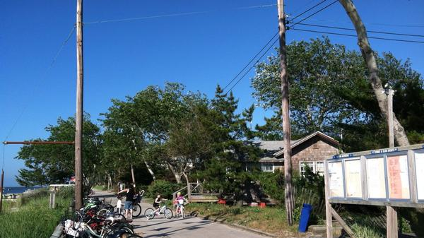 Saltaire is one of the vacation villages on New York's Fire Island where Verizon has replaced copper landlines with home wireless connections.