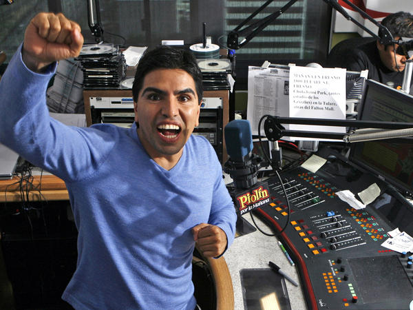 "Univision has canceled a popular Spanish-language radio show hosted by Eddie Sotelo, also known as Piolín<em> </em>or ""Tweety Bird."""