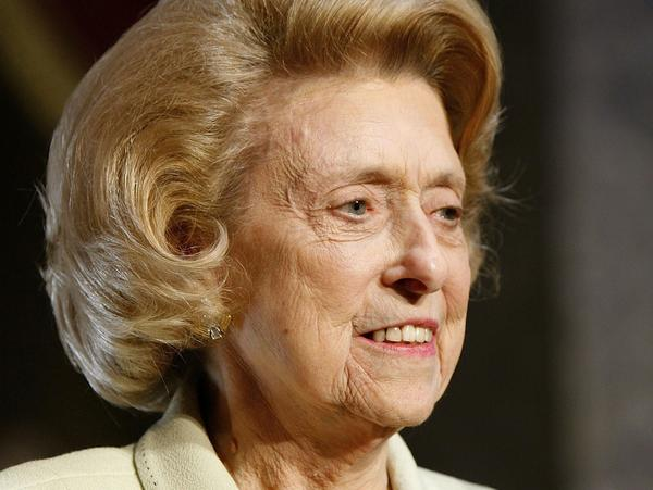Former Democratic Rep. Lindy Claiborne Boggs attends the Distinguished Service Award ceremony at the Capitol in May 2006 in Washington, D.C.