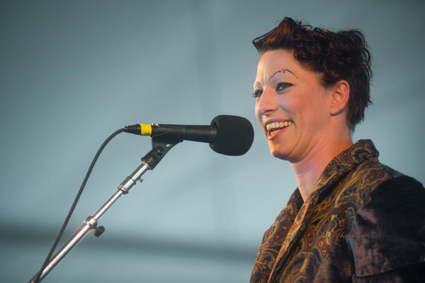 The polarizing, commanding and uncompromising Amanda Palmer does a solo set.