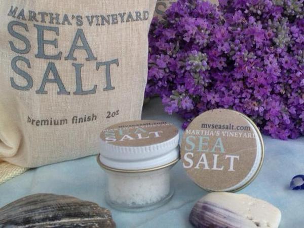 Martha's Vineyard Sea Salt is one of several companies bringing salt-making back to the shores of Massachusetts.