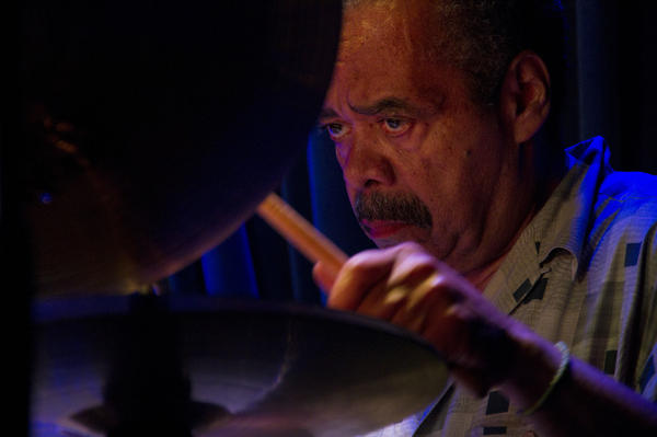 Steve Berrios performs with the Fort Apache Band in New York City earlier in 2013.